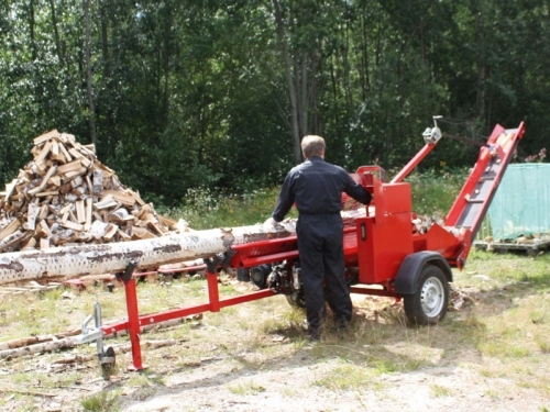 firewood processor tractor 2