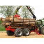Farmi Profdrive 12 4X4 Timber Trailer