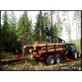 Farmi Vario 101 Timber Trailer