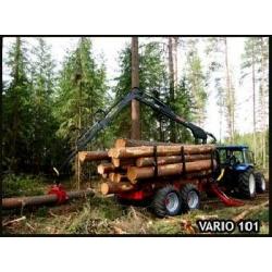 Farmi Vario 101 Timber Trailer