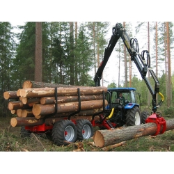 Farmi Vario 121 Timber Trailer